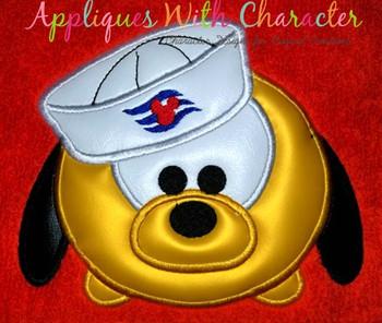 Plooto Cruise Tsum Tsum Applique Design