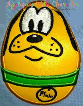 Plooto Easter Egg Applique Design