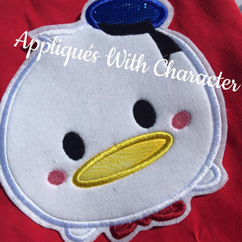Donald Duck's Little Blue Hat Tsum Tsum Applique Design
