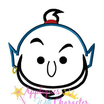 Aladdin's Genie Tsum Tsum Applique Design