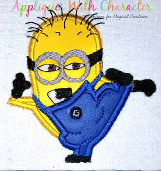 Ninja Minione Applique Design