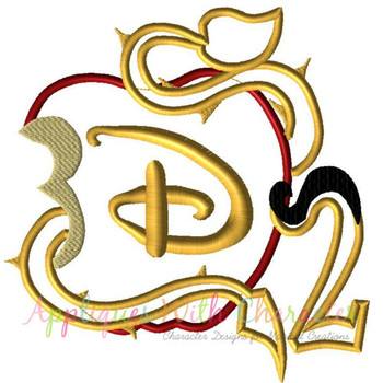 Descendants 2 Applique Design