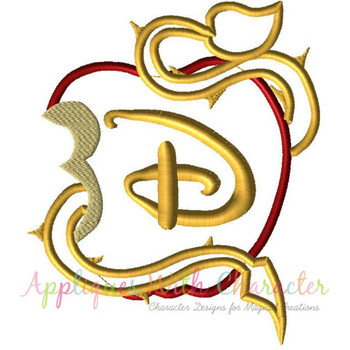 Descendants Applique Design