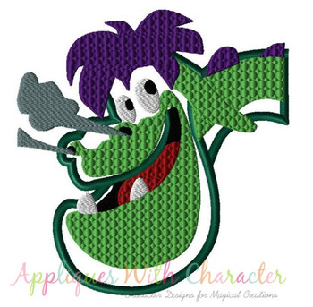 Pete Dragon Applique Design