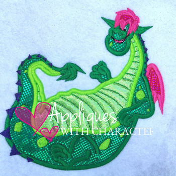 Disney Inspired Pete has a Dragon Applique Design