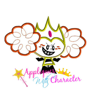 Princess Puff Power Girls Applique Design
