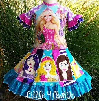 Fashion Doll Pauper Applique Design Movie Bust