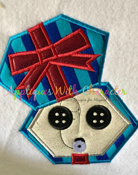 Cori Button Box Applique Design