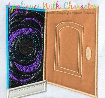 Cori Door Applique Design