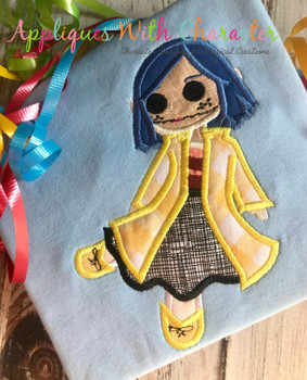Cori Doll Applique Design