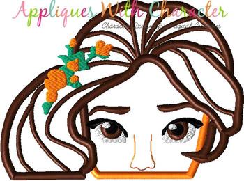 Eleena Peeker Applique Design
