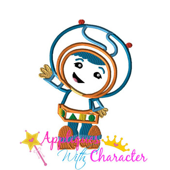 Umizoomi Boy Applique Design