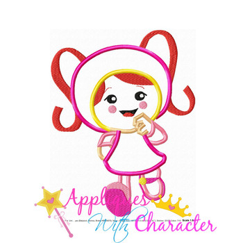 Umizoomi Girl Applique Design