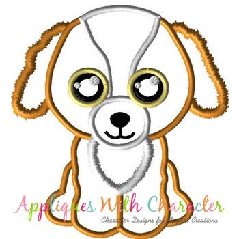 Dog Tala  Applique Design