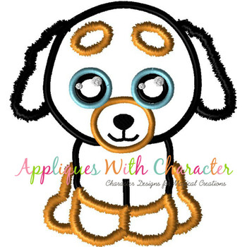 Big Eyed Doggy Applique Design