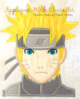 Ninja Applique Design