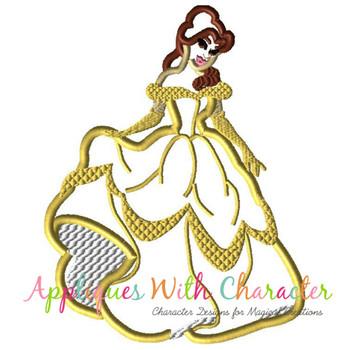 Beauty Bella Full Body Applique Design