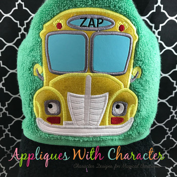 Magic Bus Peeker Applique Design