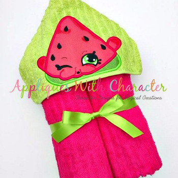 Shopikin Melon Peeker Applique Design
