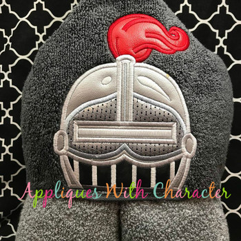 Knight Peeker Applique Design