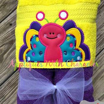 Butterfly Peeker Applique Design