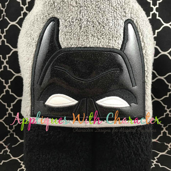 Bat Block Peeker Applique Design