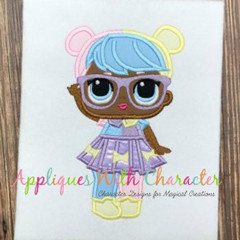 Bon Doll Applique Design