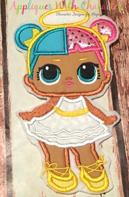 Sugar Doll Applique Design