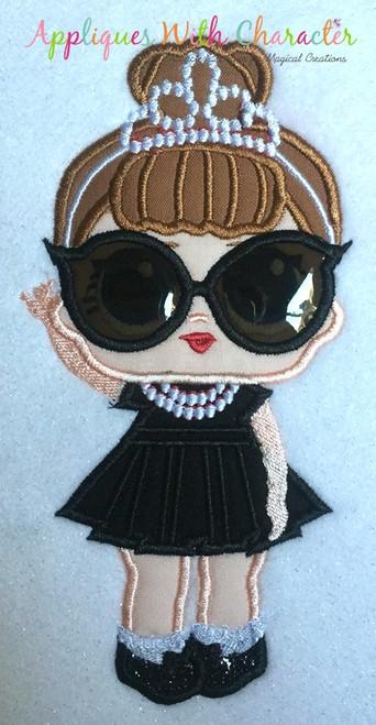 IT Baby Audrey Hepburn Applique Design