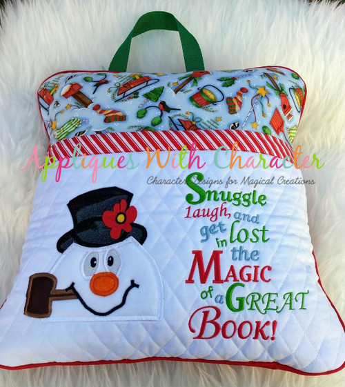 Frostee Snowman Peeker and Book Saying Set