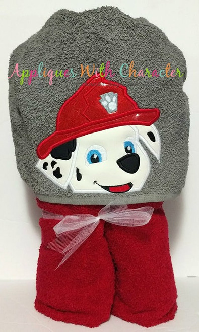 Pup Patrol Marshill Pup Peeker Applique Design
