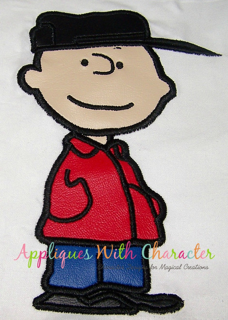 Peanuts Charles Applique Design