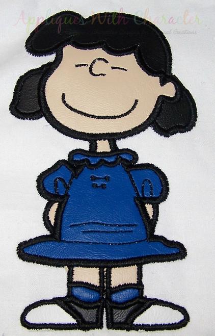 Peanuts Luci Applique Design