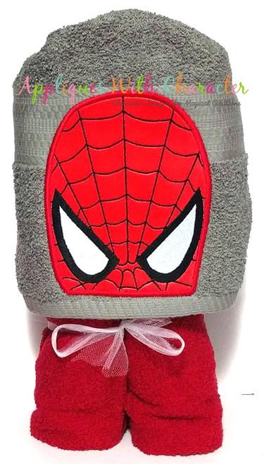 Spider Hero Peeker Applique Design