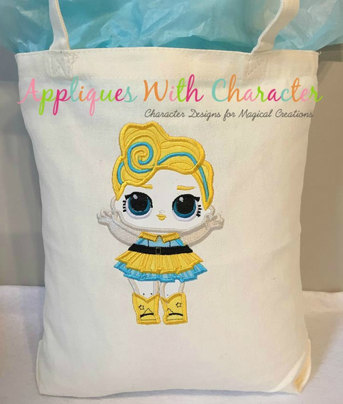 Luxe Doll Applique Design