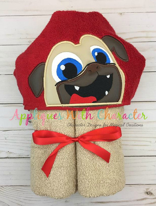Puppy Friends Rolly Peeker Applique Design