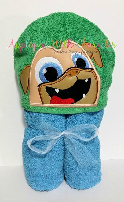 Puppy Friends Rolly Peeker Applique Design