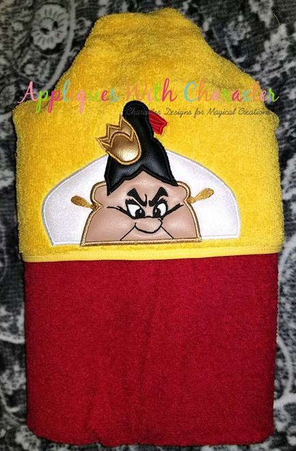 Alyce Queen of Harts Peeker Applique Design