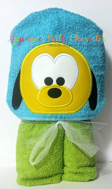 Plooto Tsum Peeker Applique Design