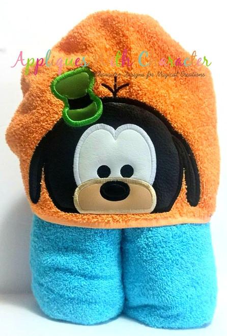 Goofie Tsum Peeker Applique Design