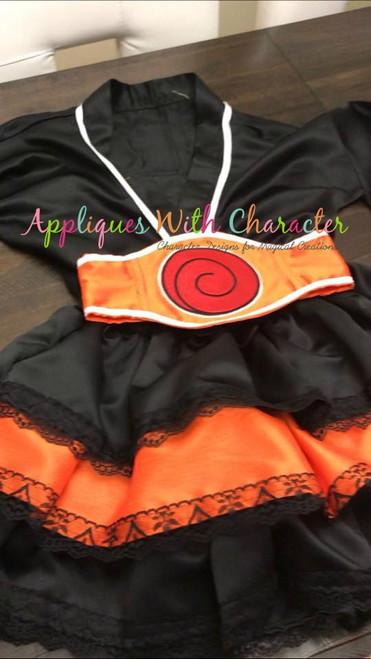 Naruto Symbol Applique Design