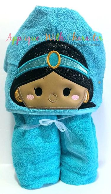 Aladdine Jasmin Tsum Tsum Peeker Applique Design