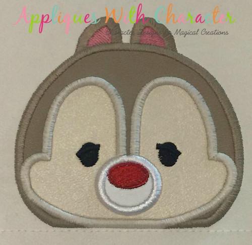 Dale Tsum Peeker Applique Design