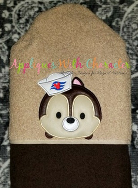 Cruise Chip Tsum Tsum Applique Design