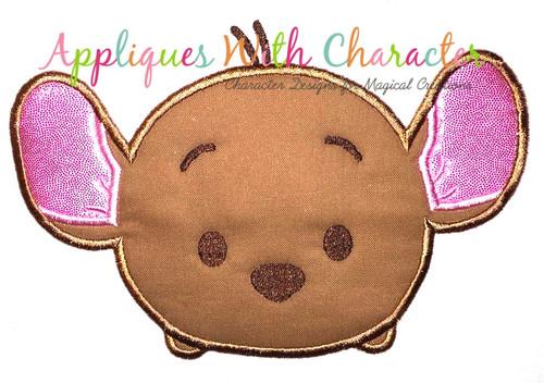 Honey Bear Kangaroo Tsum Applique Design