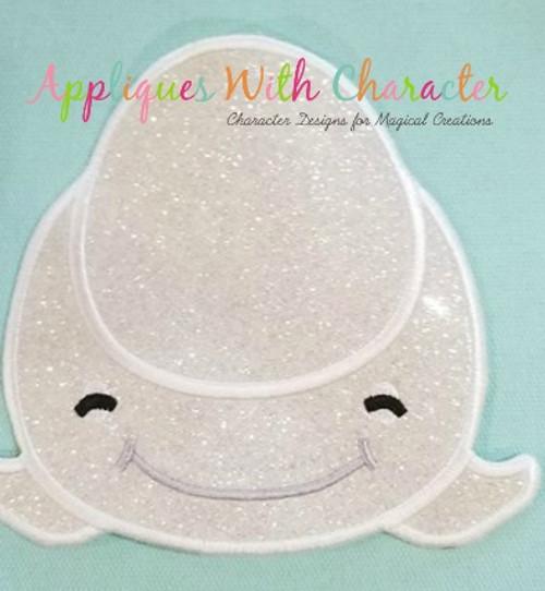 Finding Dorie Bailey Beluga Whale Tsum Tsum Applique Design