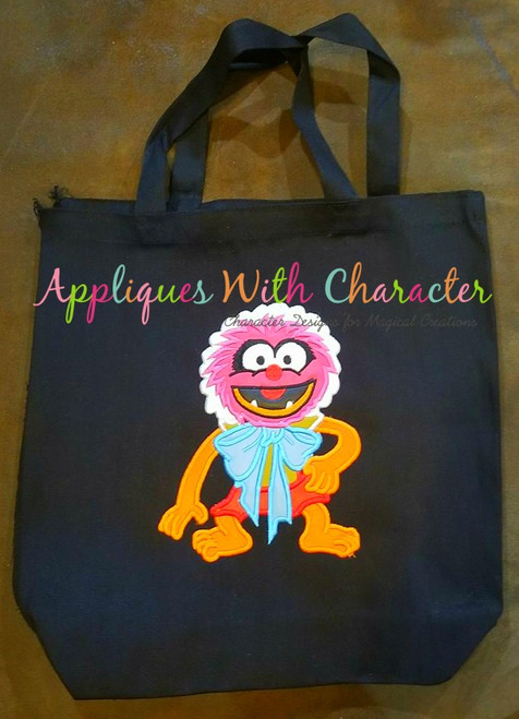 Muppet Baby Animal Applique Design
