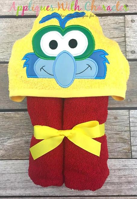 Muppet Baby Gonzo Peeker Applique Design