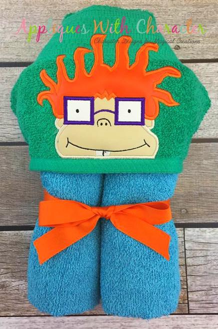Rug Chuckie Peeker Applique Design