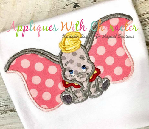 Dumbo Applique Design